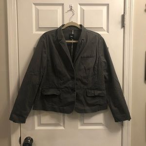Gap gray blazer jacket
